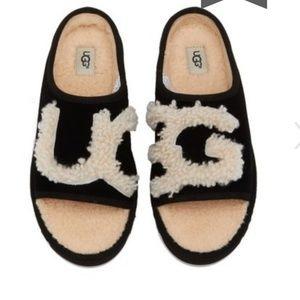 Brand New UGG Women Slide Slippers Black